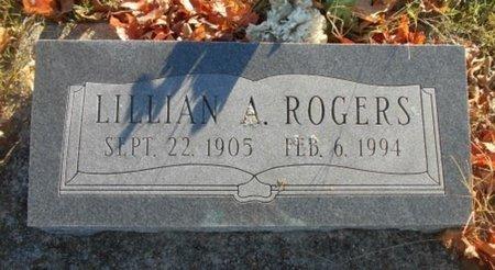 ROGERS, LILLIAN A. - Howell County, Missouri   LILLIAN A. ROGERS - Missouri Gravestone Photos