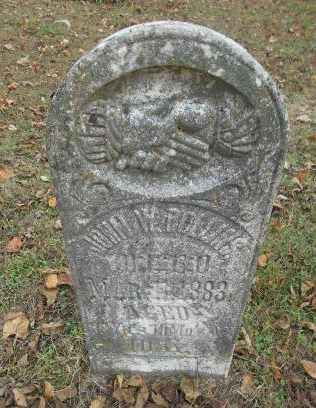 ROLLINS, JOHN W. - Howell County, Missouri   JOHN W. ROLLINS - Missouri Gravestone Photos