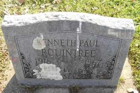 ROUINTREE, KENNETH PAUL - Howell County, Missouri | KENNETH PAUL ROUINTREE - Missouri Gravestone Photos