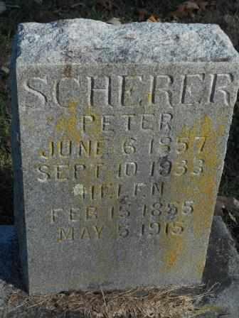 SCHERER, HELEN - Howell County, Missouri | HELEN SCHERER - Missouri Gravestone Photos