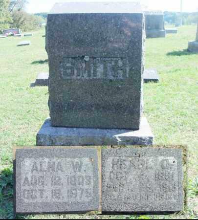 SMITH, ALNA W. - Howell County, Missouri | ALNA W. SMITH - Missouri Gravestone Photos