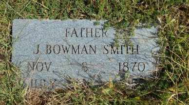 SMITH, JESSE BOWMAN - Howell County, Missouri | JESSE BOWMAN SMITH - Missouri Gravestone Photos