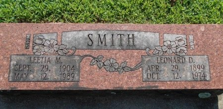 SMITH, LEONARD D. - Howell County, Missouri | LEONARD D. SMITH - Missouri Gravestone Photos