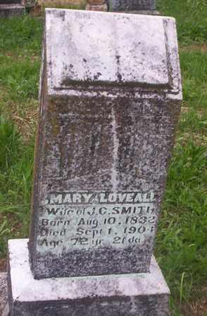 SMITH, MARY LOVEALL - Howell County, Missouri   MARY LOVEALL SMITH - Missouri Gravestone Photos