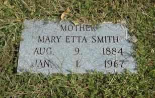 SMITH, MARY ETTA - Howell County, Missouri | MARY ETTA SMITH - Missouri Gravestone Photos
