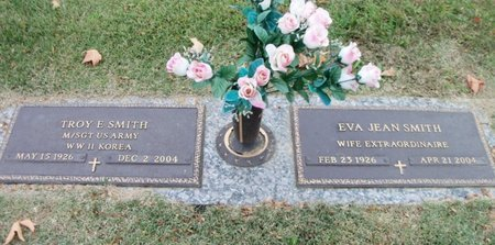 SMITH, EVA JEAN - Howell County, Missouri | EVA JEAN SMITH - Missouri Gravestone Photos