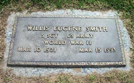 SMITH, WILLIS EUGENE VETERAN WWII - Howell County, Missouri   WILLIS EUGENE VETERAN WWII SMITH - Missouri Gravestone Photos