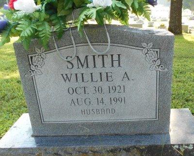 SMITH, WILLIE A. - Howell County, Missouri   WILLIE A. SMITH - Missouri Gravestone Photos