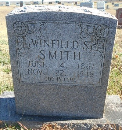SMITH, WINFIELD S. - Howell County, Missouri | WINFIELD S. SMITH - Missouri Gravestone Photos