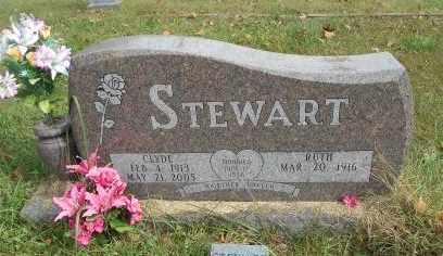 STEWART, CLYDE - Howell County, Missouri | CLYDE STEWART - Missouri Gravestone Photos