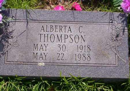 THOMPSON, ALBERTA C - Howell County, Missouri | ALBERTA C THOMPSON - Missouri Gravestone Photos