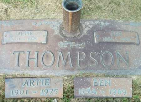 MUSTION THOMPSON, ARTIE ERNESTINE - Howell County, Missouri | ARTIE ERNESTINE MUSTION THOMPSON - Missouri Gravestone Photos