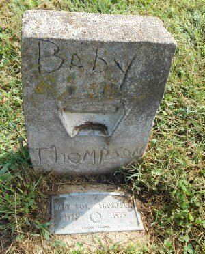 THOMPSON, BABY BOY - Howell County, Missouri | BABY BOY THOMPSON - Missouri Gravestone Photos