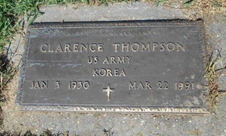 THOMPSON, CLARENCE VETERAN KOREA - Howell County, Missouri | CLARENCE VETERAN KOREA THOMPSON - Missouri Gravestone Photos
