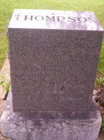 THOMPSON, EMMA ELIZABETH - Howell County, Missouri | EMMA ELIZABETH THOMPSON - Missouri Gravestone Photos