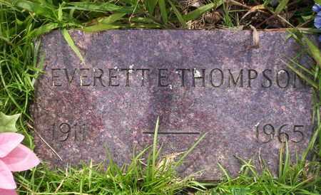 THOMPSON, EVERETT E - Howell County, Missouri | EVERETT E THOMPSON - Missouri Gravestone Photos