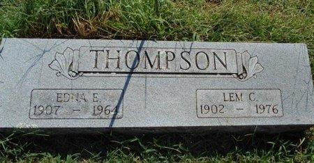 THOMPSON, LEMUEL CALVIN - Howell County, Missouri | LEMUEL CALVIN THOMPSON - Missouri Gravestone Photos