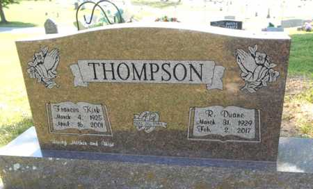 THOMPSON, FRANCES - Howell County, Missouri | FRANCES THOMPSON - Missouri Gravestone Photos