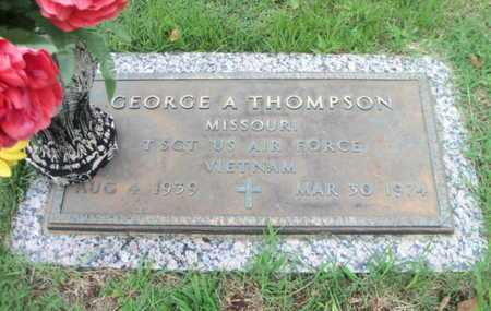 THOMPSON, GEORGE A. VETERAN VIETNAM - Howell County, Missouri | GEORGE A. VETERAN VIETNAM THOMPSON - Missouri Gravestone Photos