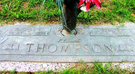 THOMPSON, D. BLANCHE - Howell County, Missouri | D. BLANCHE THOMPSON - Missouri Gravestone Photos