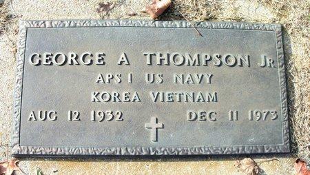 THOMPSON, GEORGE A., JR. VETERAN KOREA VIETNAM - Howell County, Missouri | GEORGE A., JR. VETERAN KOREA VIETNAM THOMPSON - Missouri Gravestone Photos