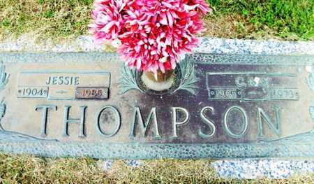 MUSTION THOMPSON, JESSIE MAE - Howell County, Missouri | JESSIE MAE MUSTION THOMPSON - Missouri Gravestone Photos