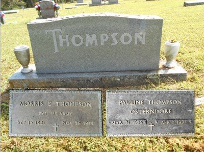 THOMPSON, PAULINE FERN - Howell County, Missouri | PAULINE FERN THOMPSON - Missouri Gravestone Photos