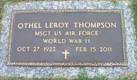 THOMPSON, OTHEL LEROY VETERAN WWII - Howell County, Missouri | OTHEL LEROY VETERAN WWII THOMPSON - Missouri Gravestone Photos