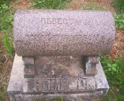 THOMPSON, REBECCA - Howell County, Missouri   REBECCA THOMPSON - Missouri Gravestone Photos
