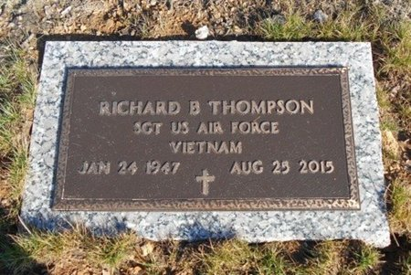 THOMPSON, RICHARD BLAINE VETERAN VIETNAM - Howell County, Missouri | RICHARD BLAINE VETERAN VIETNAM THOMPSON - Missouri Gravestone Photos