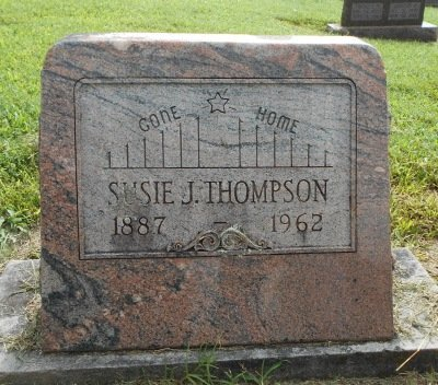 THOMPSON, SUSIE J. - Howell County, Missouri | SUSIE J. THOMPSON - Missouri Gravestone Photos