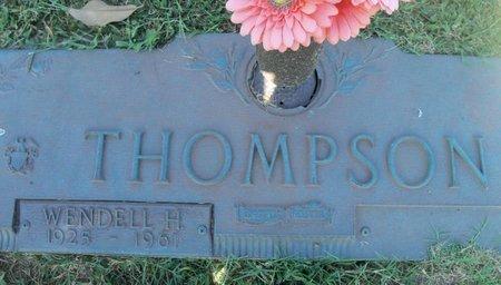 THOMPSON, WENDELL H. - Howell County, Missouri   WENDELL H. THOMPSON - Missouri Gravestone Photos