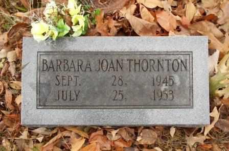 THORNTON, BARBARA JOAN - Howell County, Missouri | BARBARA JOAN THORNTON - Missouri Gravestone Photos