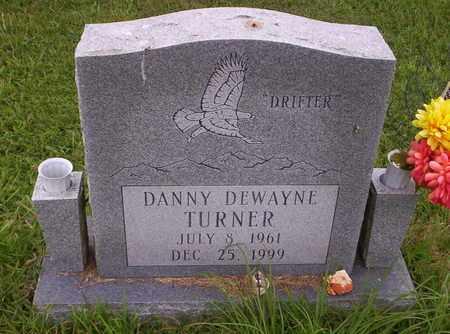 TURNER, DANNY DEWAYNE - Howell County, Missouri | DANNY DEWAYNE TURNER - Missouri Gravestone Photos