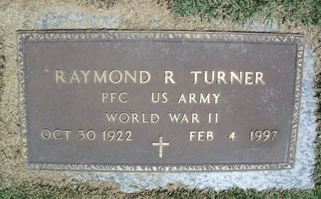 TURNER, RAYMOND R. VETERAN WWII - Howell County, Missouri | RAYMOND R. VETERAN WWII TURNER - Missouri Gravestone Photos