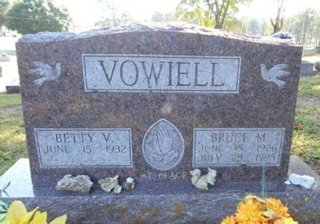 VOWIELL, BRUCE MONROE - Howell County, Missouri | BRUCE MONROE VOWIELL - Missouri Gravestone Photos