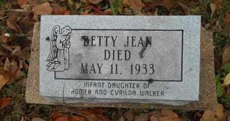 WALKER, BETTY JEAN - Howell County, Missouri | BETTY JEAN WALKER - Missouri Gravestone Photos