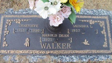 WALKER, GENEVIEVE - Howell County, Missouri   GENEVIEVE WALKER - Missouri Gravestone Photos