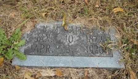 WALKER, J.M. - Howell County, Missouri | J.M. WALKER - Missouri Gravestone Photos