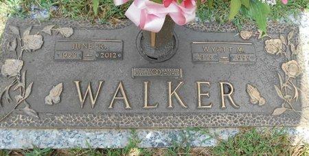 WALKER, JUNE ROSE - Howell County, Missouri | JUNE ROSE WALKER - Missouri Gravestone Photos