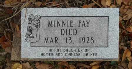 WALKER, MINNIE FAY - Howell County, Missouri | MINNIE FAY WALKER - Missouri Gravestone Photos