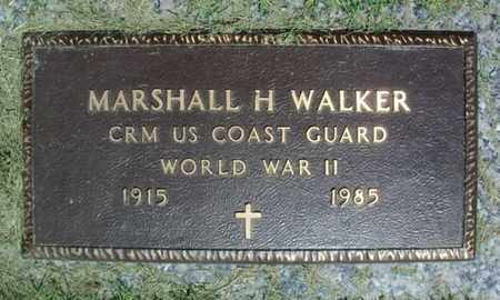 WALKER, MARSHALL H. VETERAN WWII - Howell County, Missouri | MARSHALL H. VETERAN WWII WALKER - Missouri Gravestone Photos