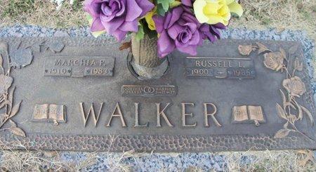 WALKER, MARCHIA P. - Howell County, Missouri | MARCHIA P. WALKER - Missouri Gravestone Photos