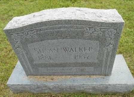 WALKER, SUSAN - Howell County, Missouri | SUSAN WALKER - Missouri Gravestone Photos