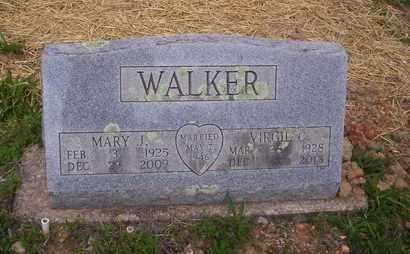 WALKER, MARY - Howell County, Missouri | MARY WALKER - Missouri Gravestone Photos
