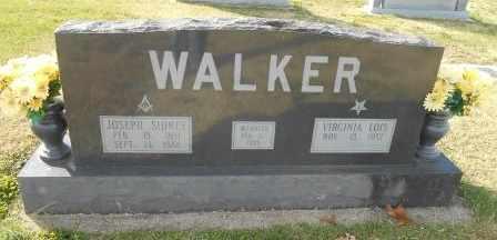 WALKER, JOSEPH SIDNEY VETERAN - Howell County, Missouri | JOSEPH SIDNEY VETERAN WALKER - Missouri Gravestone Photos