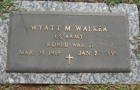 WALKER, WYATT MONROE VETERAN WWII - Howell County, Missouri | WYATT MONROE VETERAN WWII WALKER - Missouri Gravestone Photos