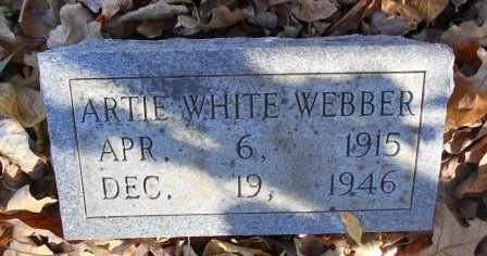 WHITE WEBER, ARTIE - Howell County, Missouri | ARTIE WHITE WEBER - Missouri Gravestone Photos