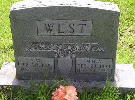 WEST, ALVA ALFORD - Howell County, Missouri | ALVA ALFORD WEST - Missouri Gravestone Photos