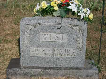 WEST, JOHN P. - Howell County, Missouri | JOHN P. WEST - Missouri Gravestone Photos